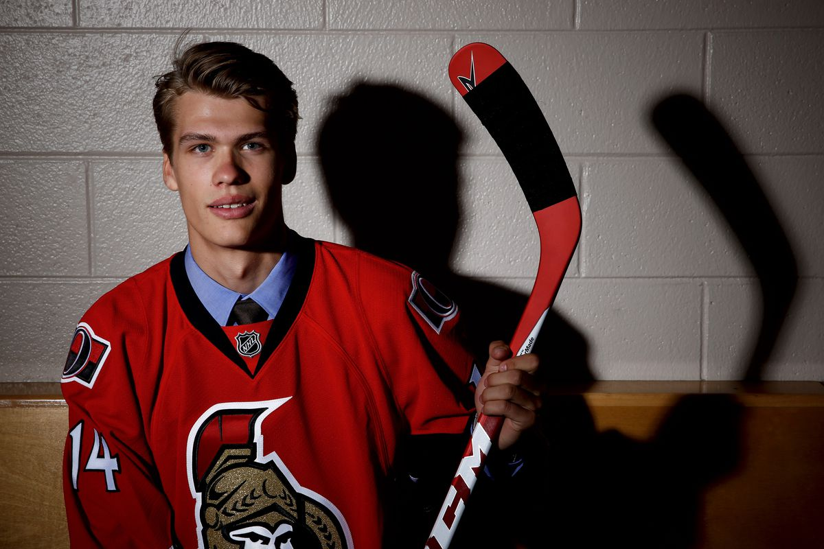 Here's to great development from the Sens top 2014 draft pick.