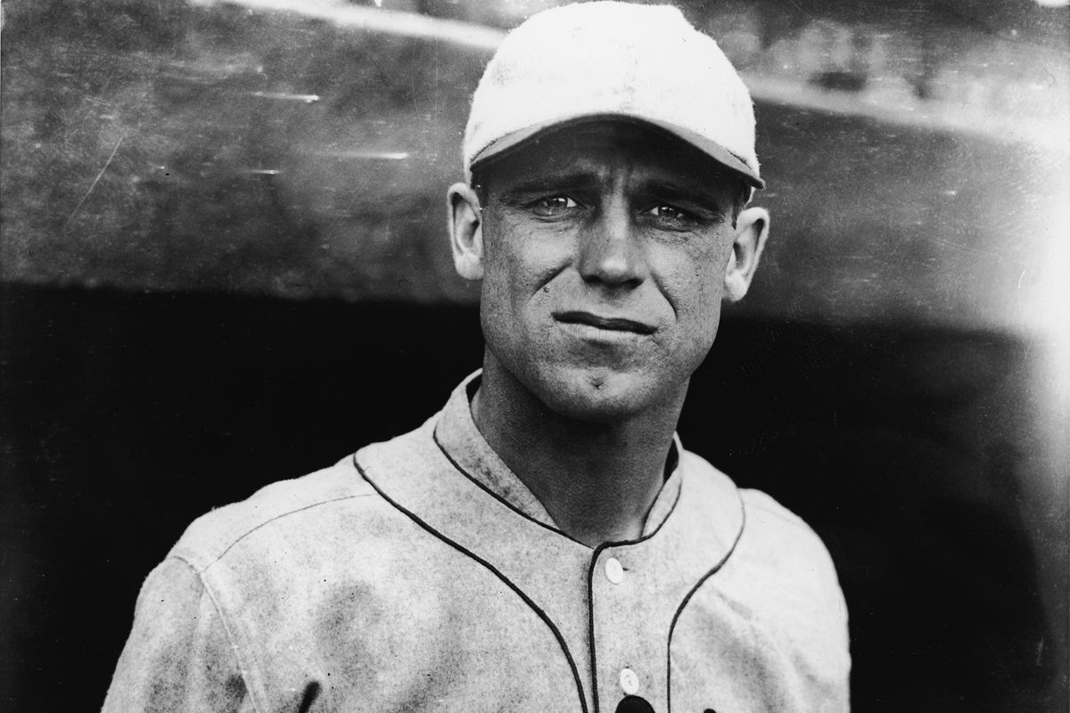 'Gorgeous' George Sisler Of The St. Louis Browns