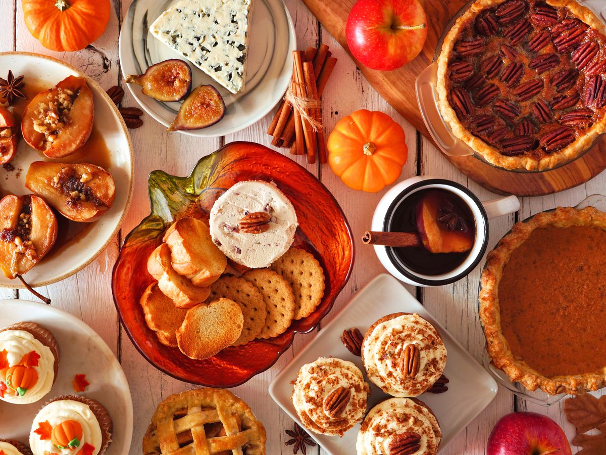 A Thanksgiving Day spread