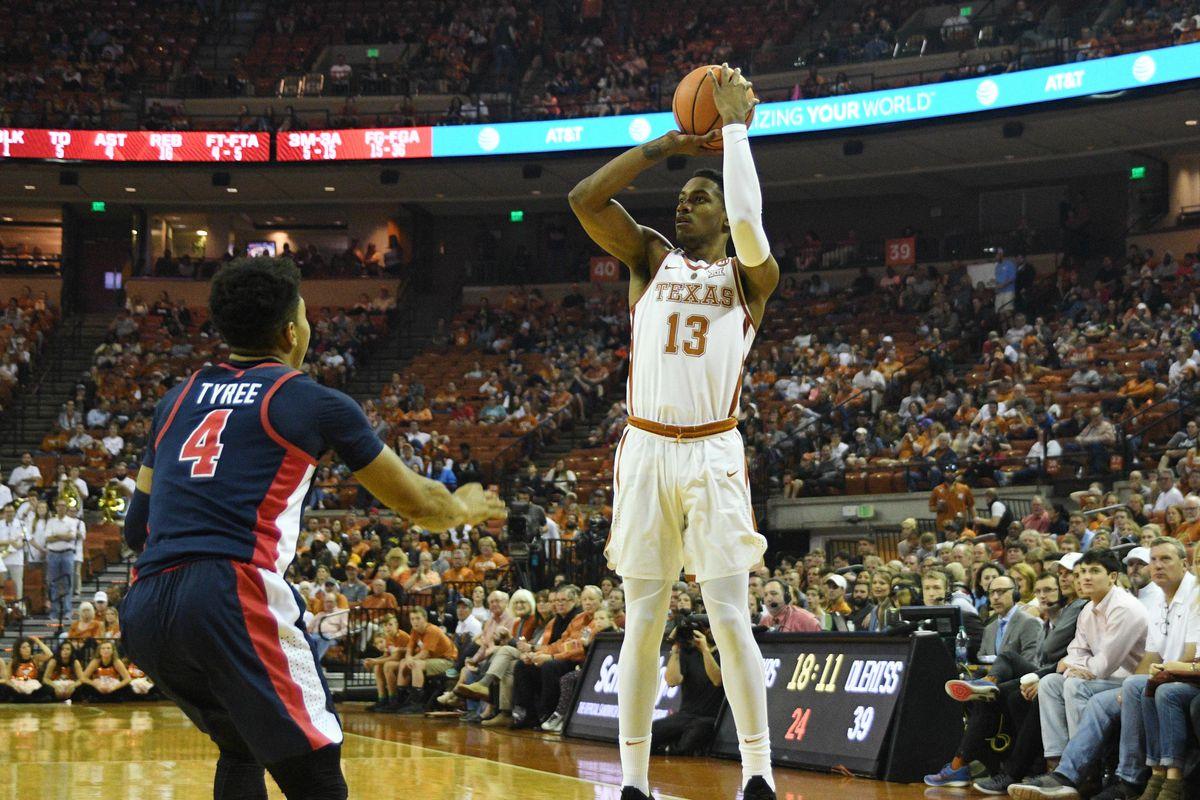 NCAA Basketball: Mississippi at Texas