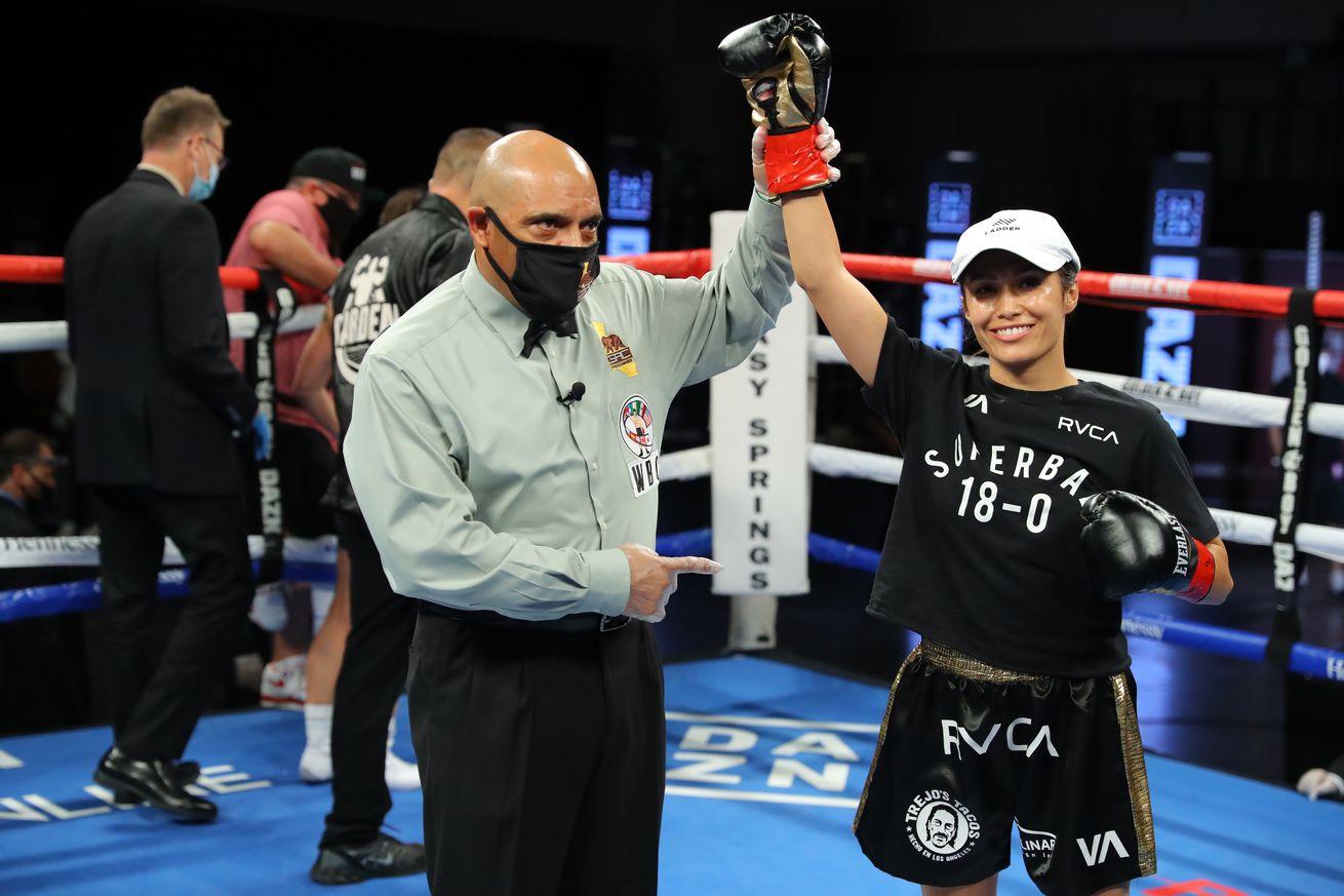 1258072636.0 - Tada-Estrada title fight joins Diaz-Rakhimov on Feb. 13