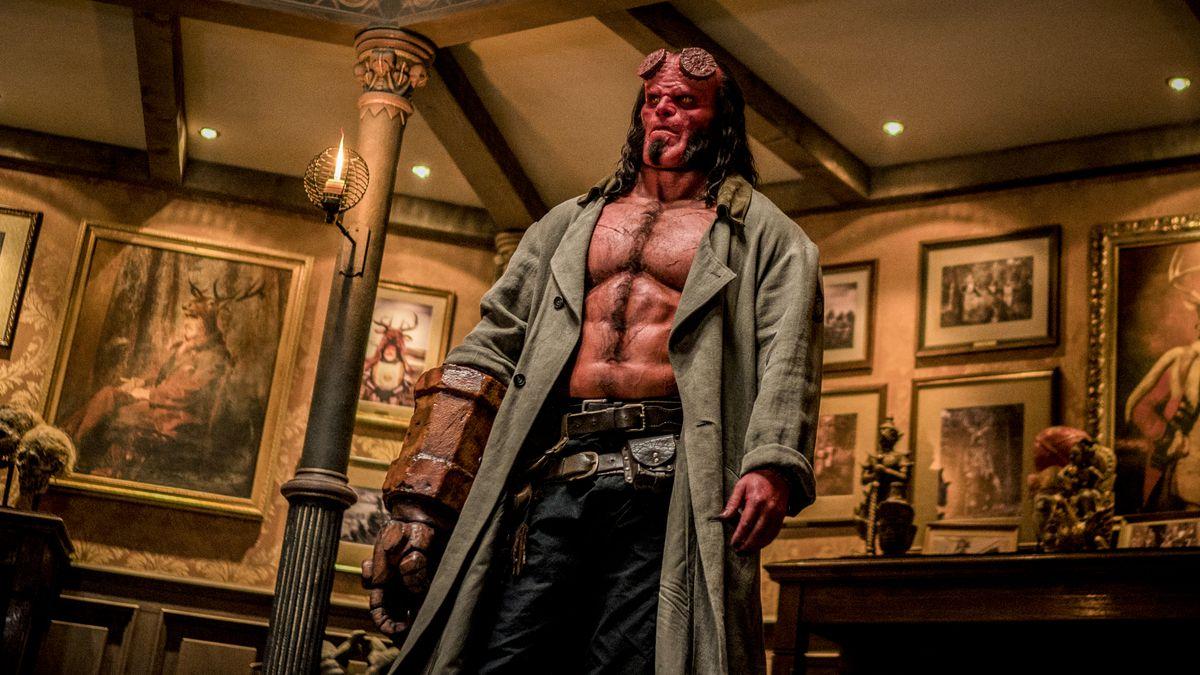 David Harbour stars as 'Hellboy' in HELLBOY.