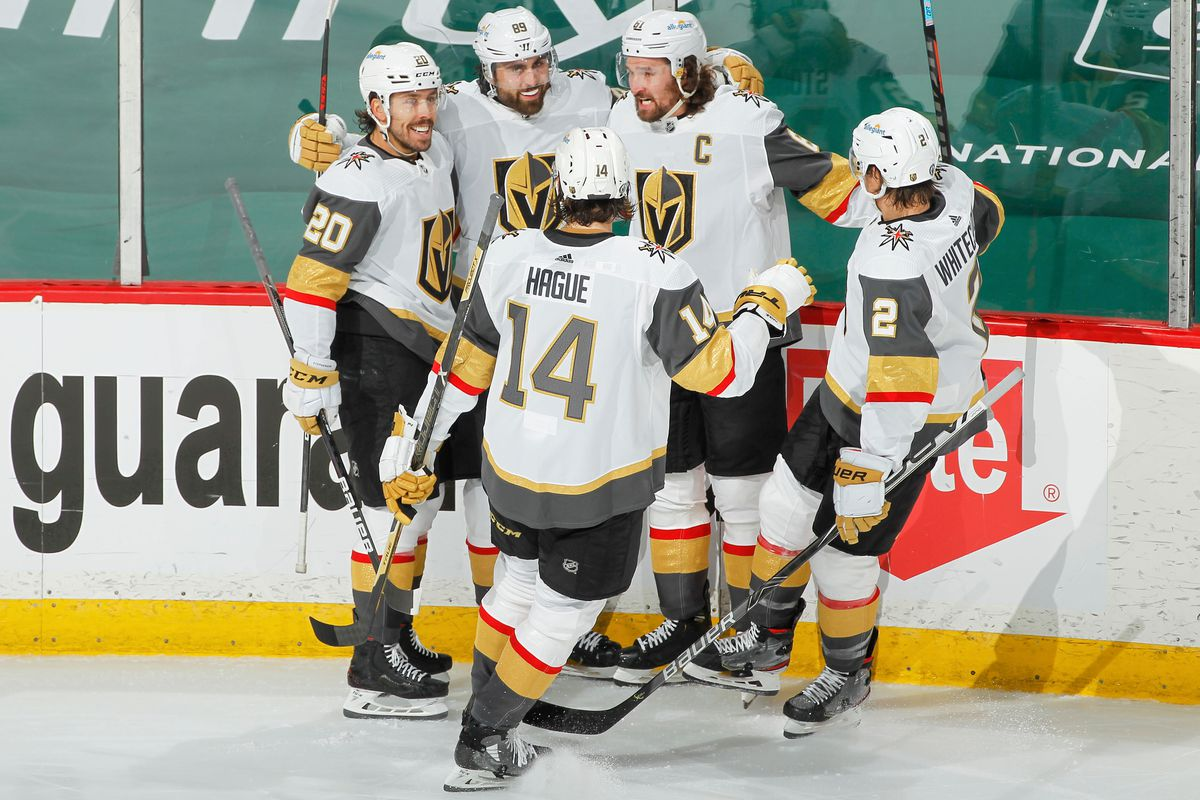 Vegas Golden Knights v Minnesota Wild - Game Four
