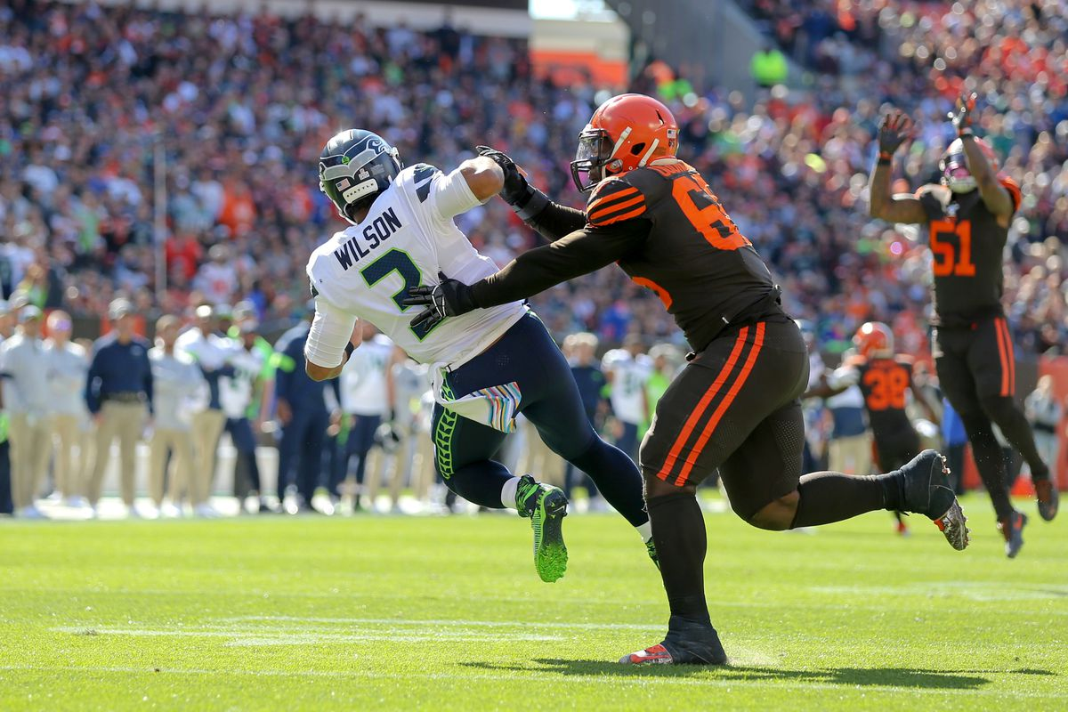 NFL: OCT 13 Seahawks at Browns