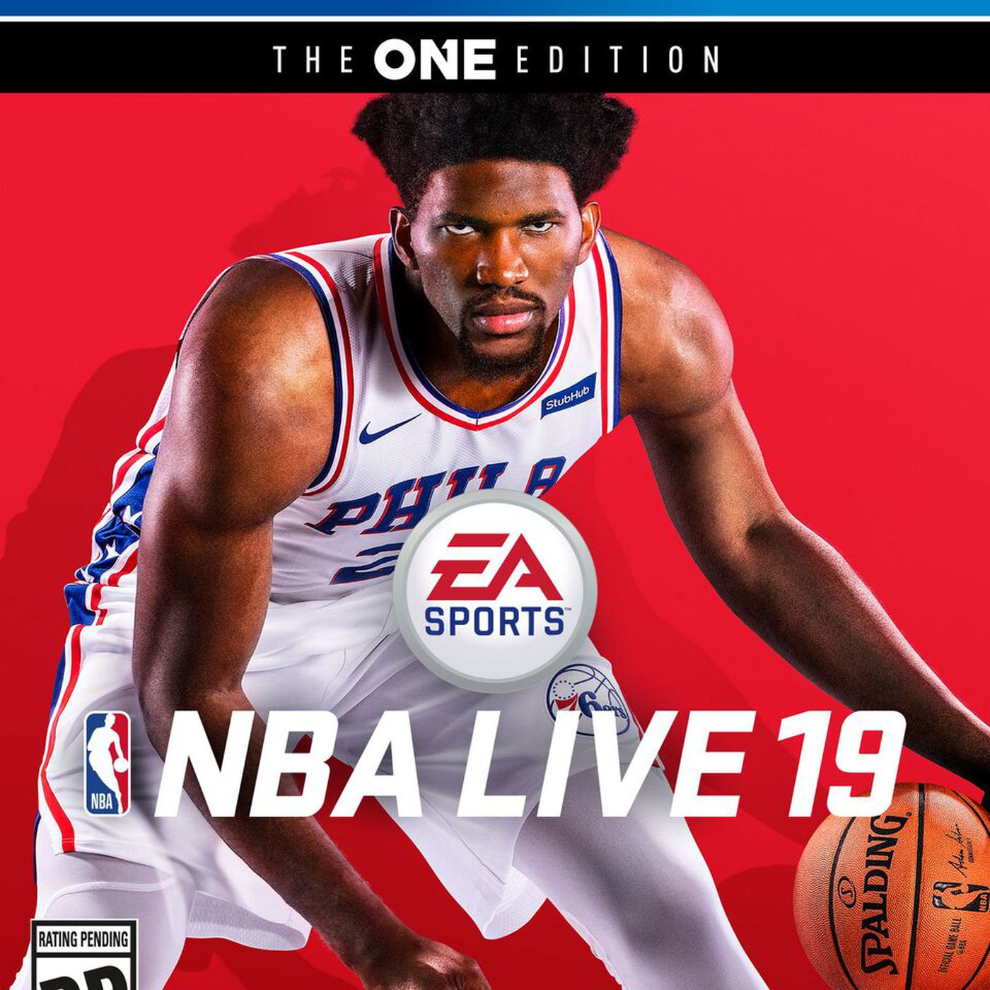 Joel Embiid Trusted The Process Onto The Nba Live 19 Cover