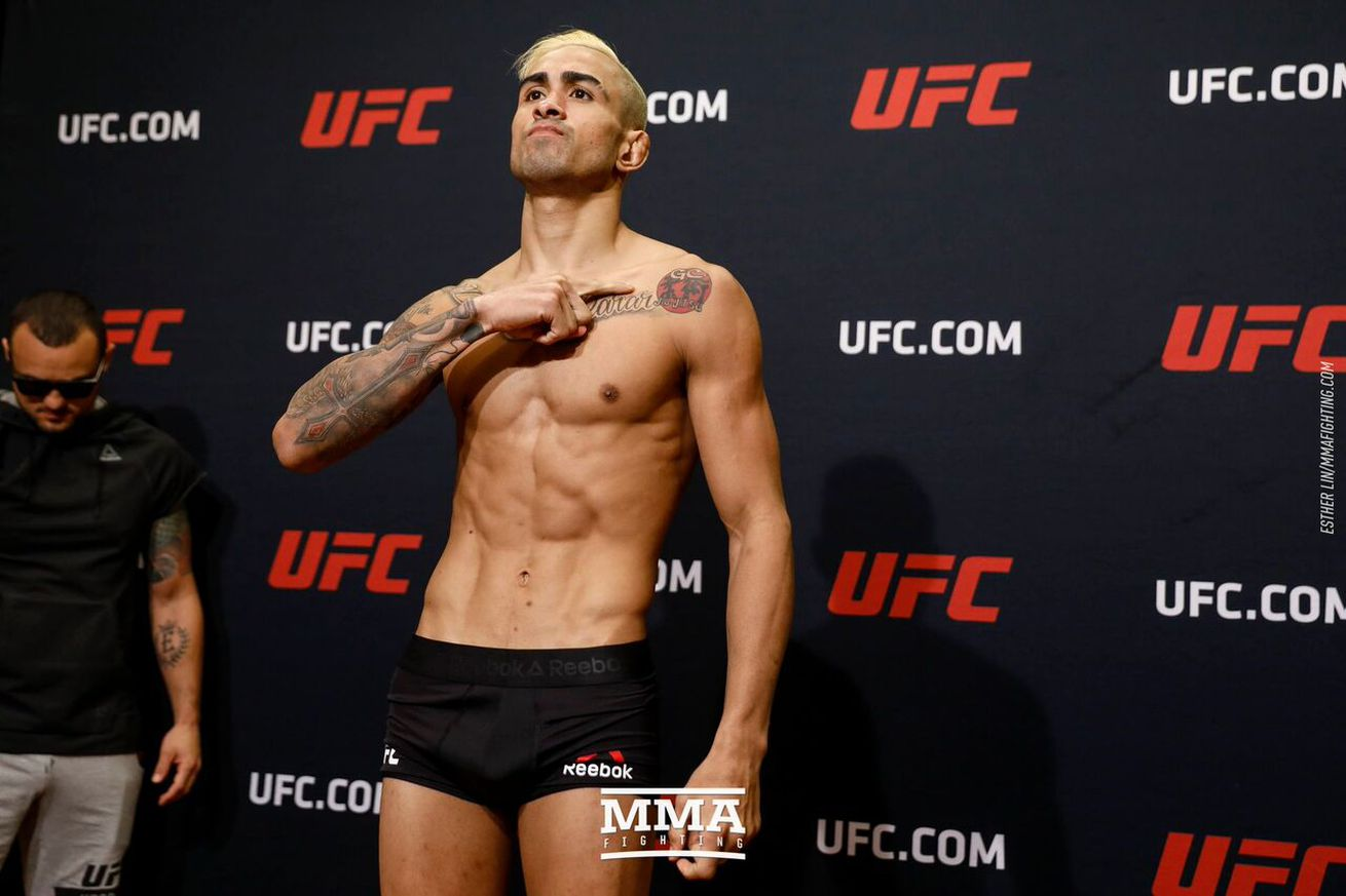 UFC on FOX 25s Godofredo Pepey says he was cleared by doctors to fight in March despite broken orbital bone
