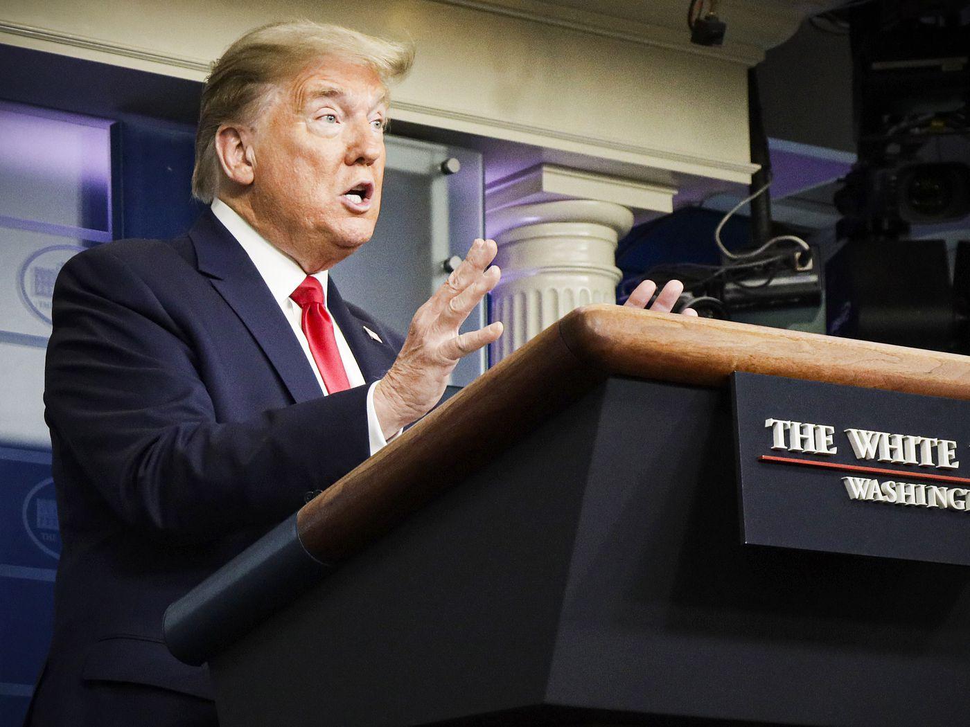 Trump S Latest Coronavirus Briefing Featured An Epic Meltdown Vox