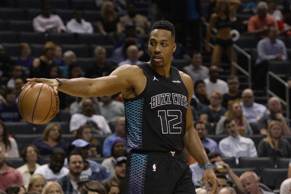 separation shoes e4876 b10d8 2017-18 Hornets Review: Dwight Howard - At The Hive