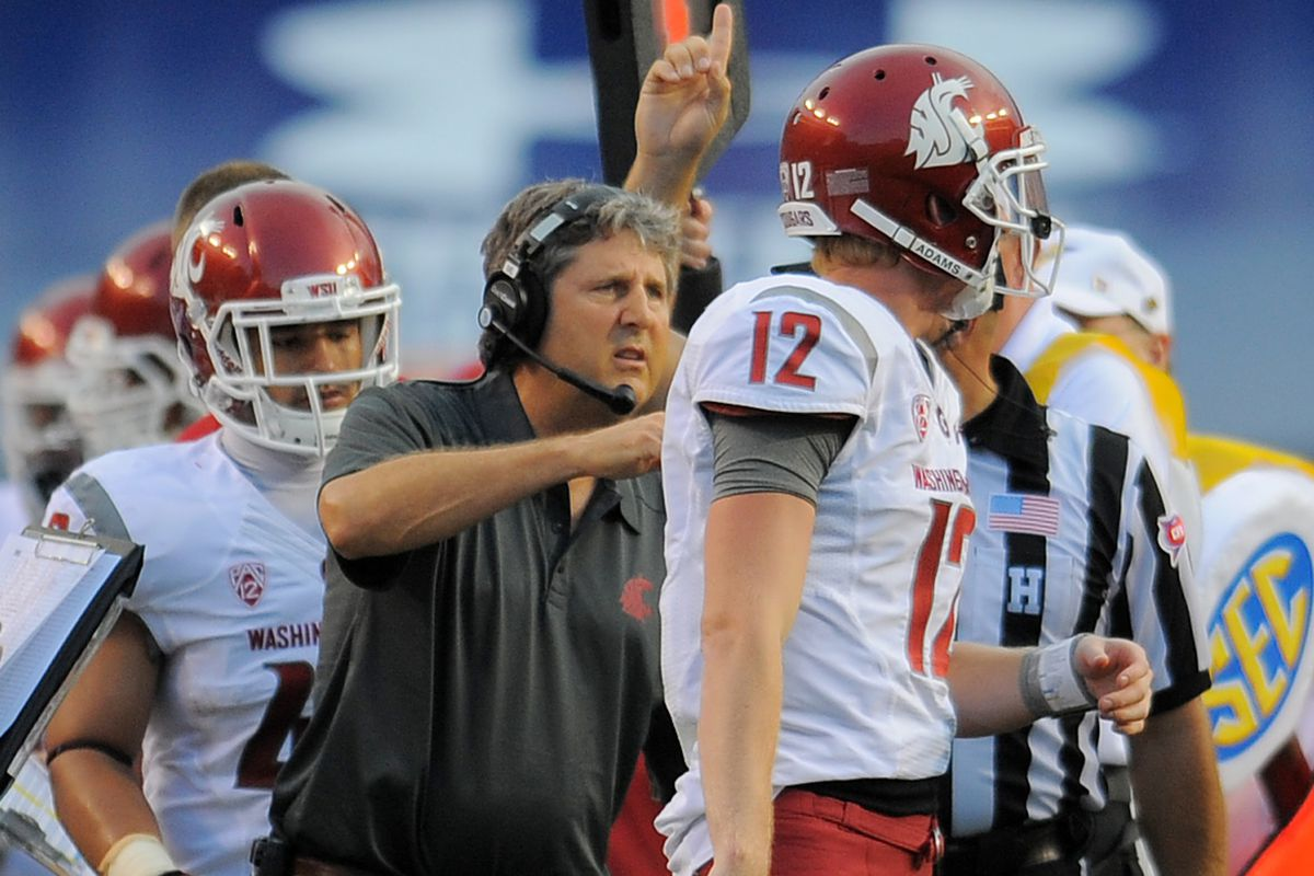 Connor Halliday and Mike Leach have a big season ahead.
