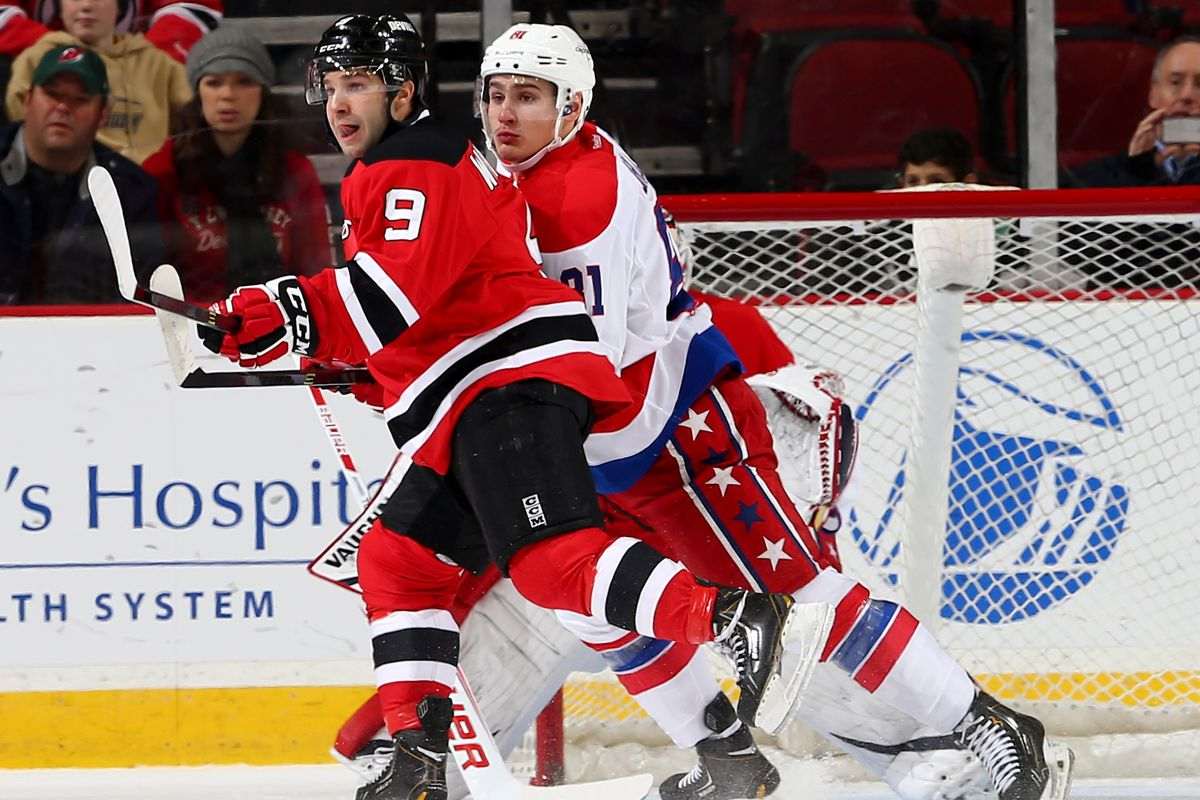 Will Joe Whitney get to taste more than eight minutes (and his upper lip) with the New Jersey Devils this season?