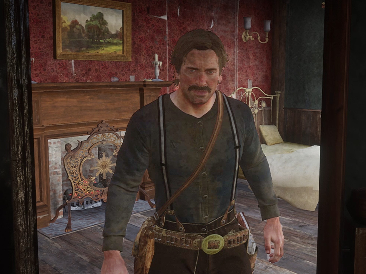 Red Dead Redemption 2's Arthur Morgan does not like the man in the