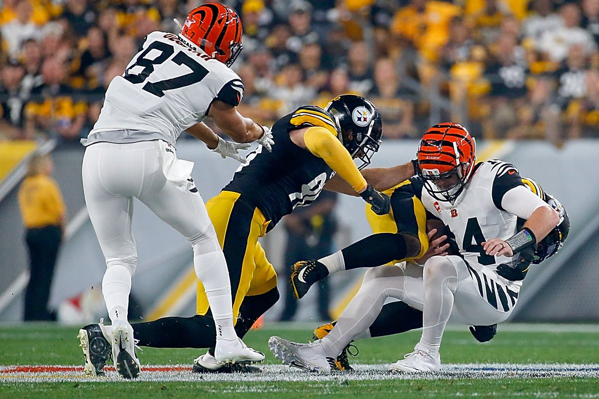 Steelers Vs Bengals Week 4 2nd Quarter Live In Game