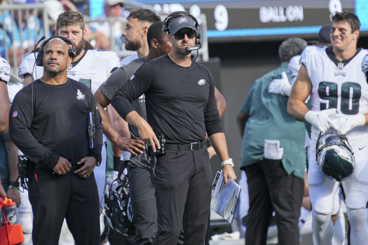 NFL: OCT 10 Eagles at Panthers