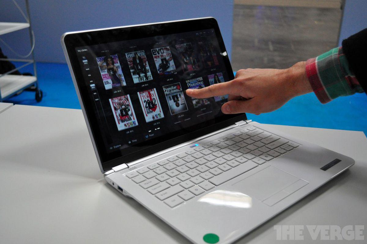 Gallery Photo: Intel touchscreen ultrabook prototype photos