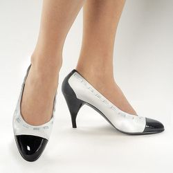 """""""The Camileon Heels 'Marta' ($129) would be perfect for a suit."""""""