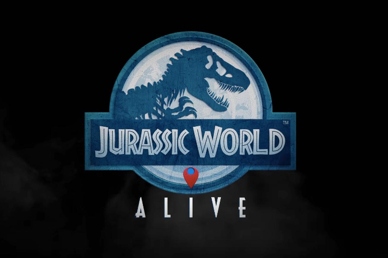 jurassic world alive looks like pokmon go but with giant dinosaurs