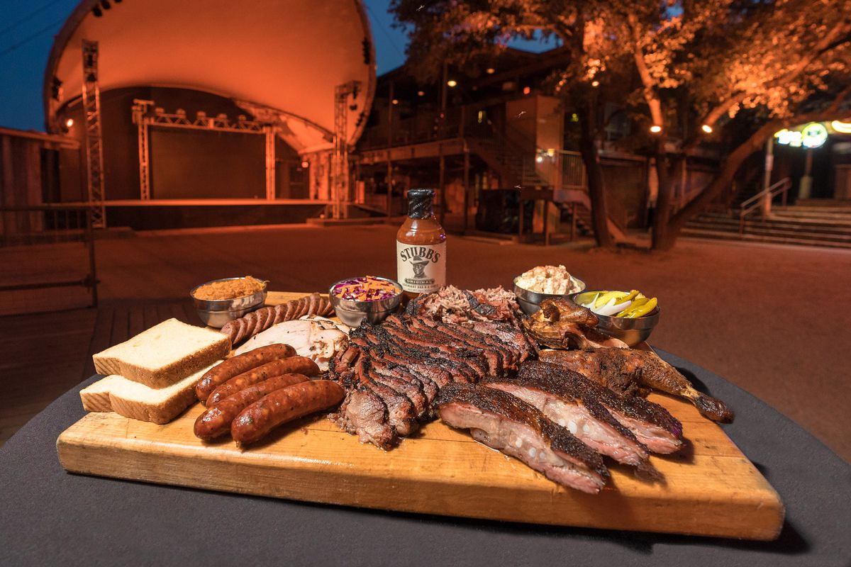 Barbecue from Stubb's at Stubb's Bar-B-Q