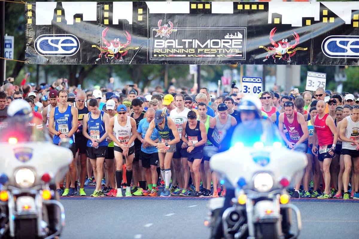 Running: Baltimore Running Festival