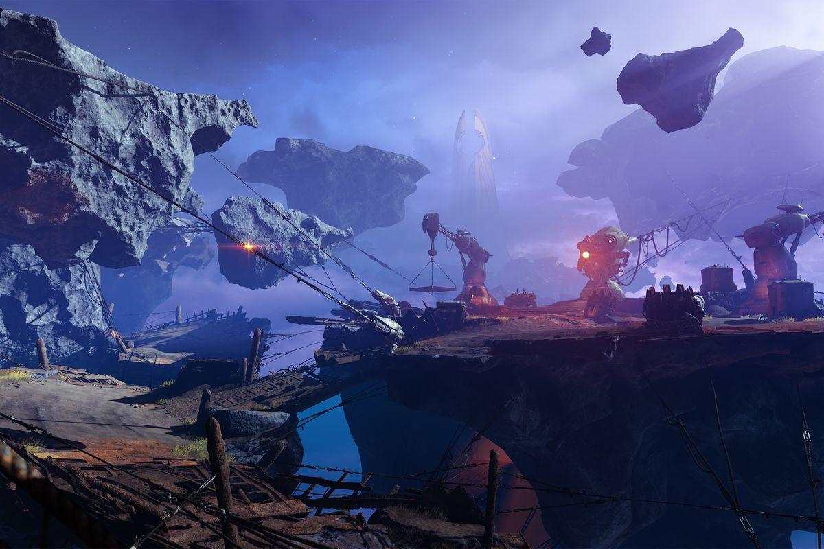Destiny 2: Forsaken - the Tangled Shore in the Reef