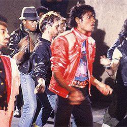 """""""Beat It"""" music video"""