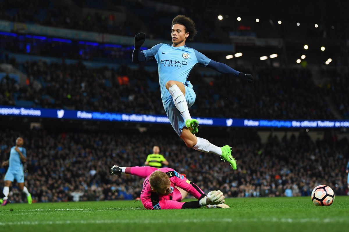 Leroy Sané Is Flying High For Manchester City