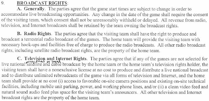 byu-weber basketball contract broadcast rights