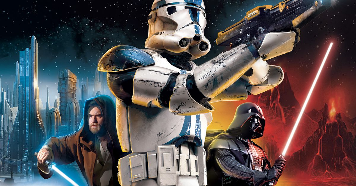 Here's how 2005's Star Wars: Battlefront 2 was patched this week