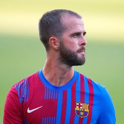 Miralem Pjanic gets a rare outing too