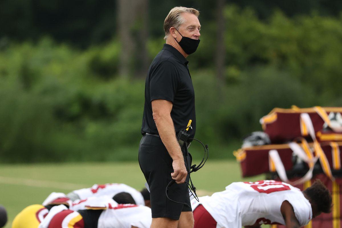 NFL: The Washington Football Team-Training Camp