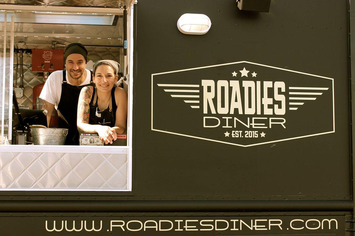 William De Filippis and Erica Pratico of Roadies Diner