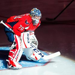 Holtby Before the Start