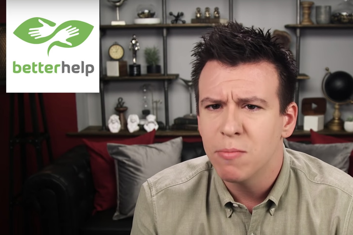 Philip defranco betterhelp ceo speak out on the youtube controversy philip defranco talking about the betterhelp controversy philip defranco youtube m4hsunfo