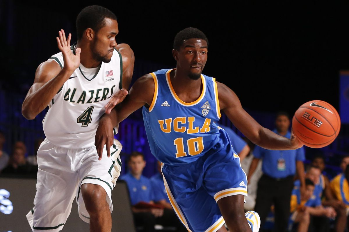 Isaac Hamilton had his best half as a Bruin with 16 points.
