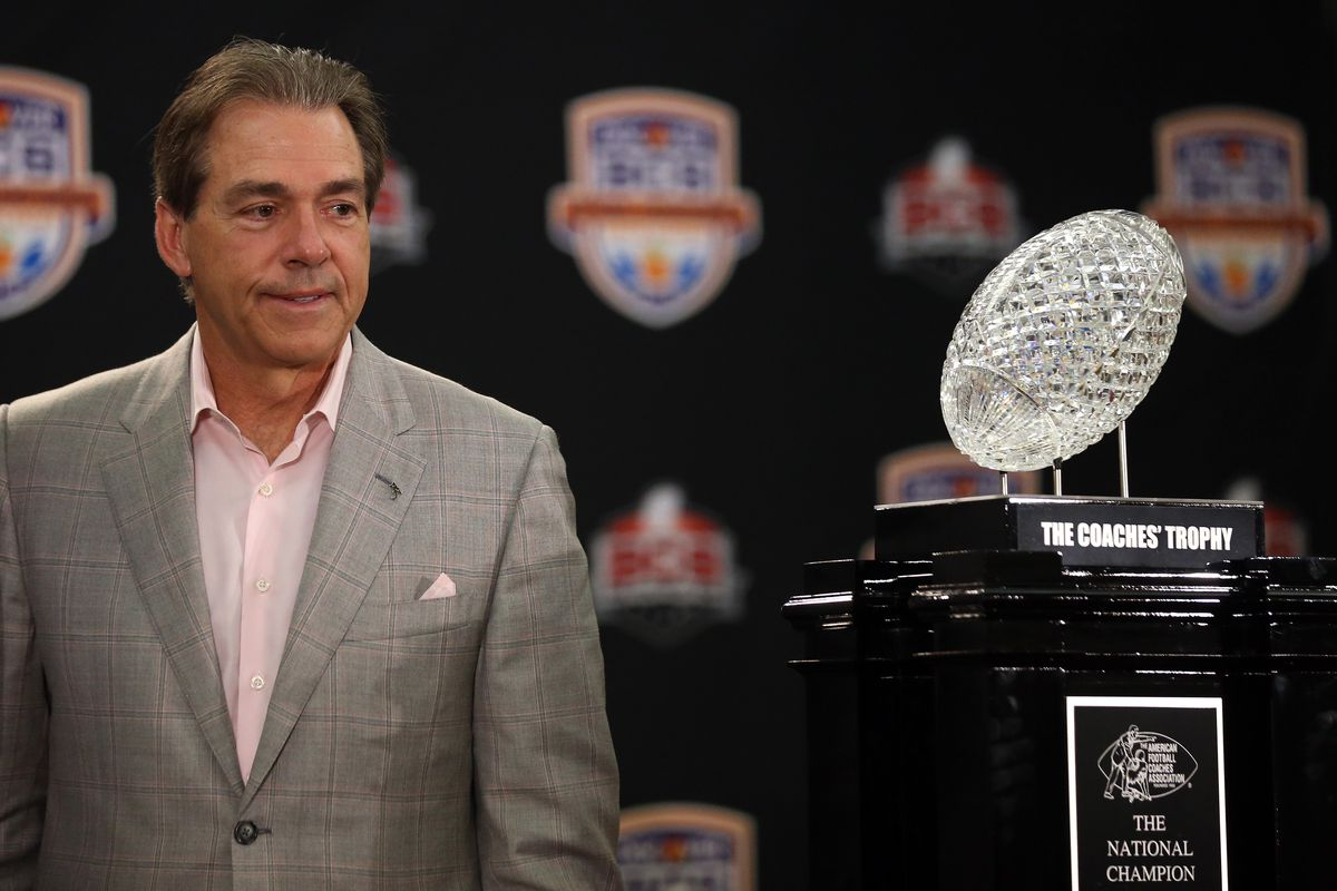 At what point does Mike Slive negotiate a lease with an option to buy the crystal trophy?