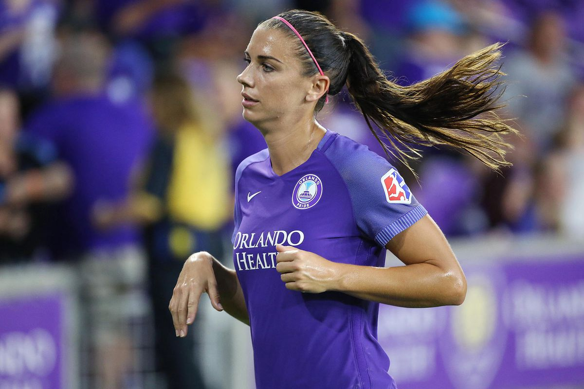 USWNT star Alex Morgan is pregnant, expecting daughter in April