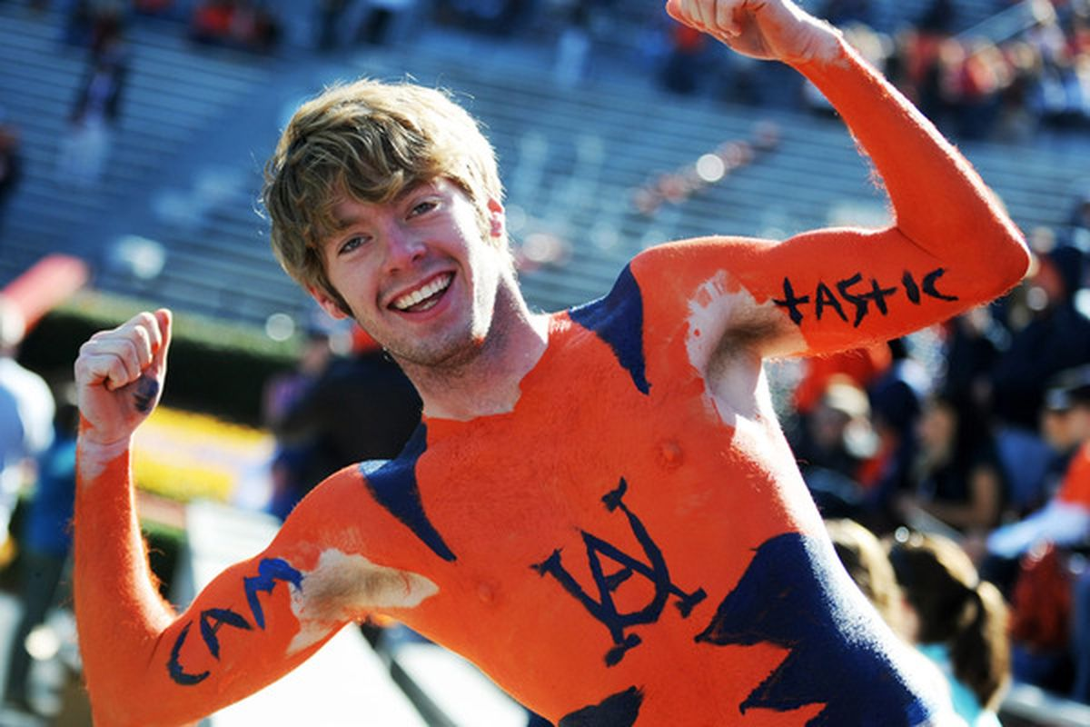 C'mon Auburn, act like you've been here before.