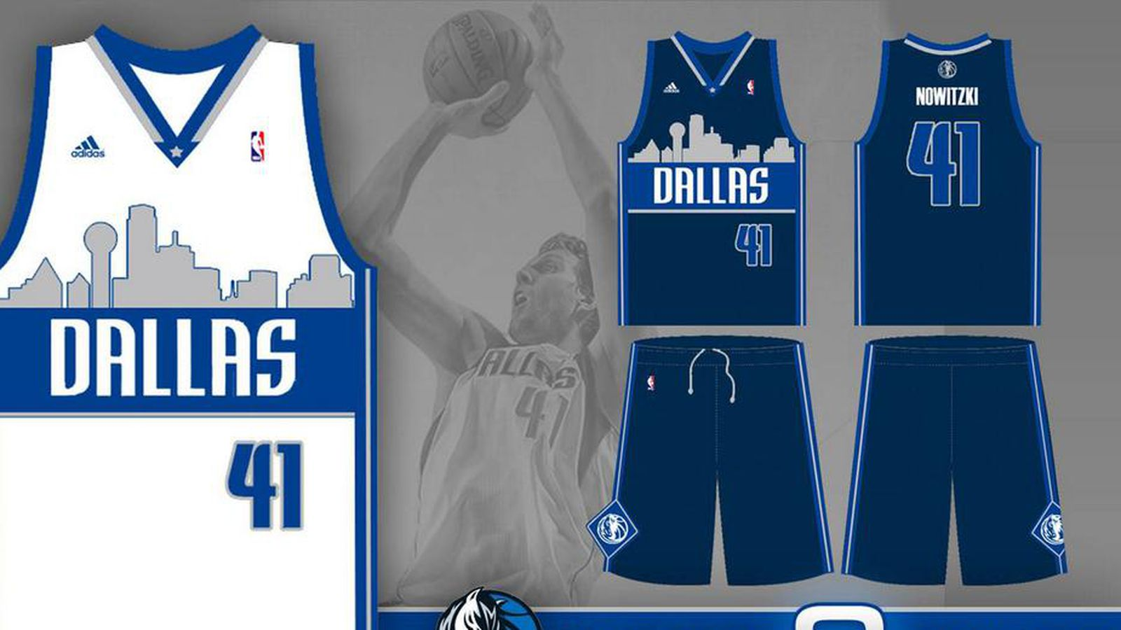 d32e887dfaa3 Mavericks introduce new alternate jerseys with Dallas skyline for the 2015-16  season - Mavs Moneyball