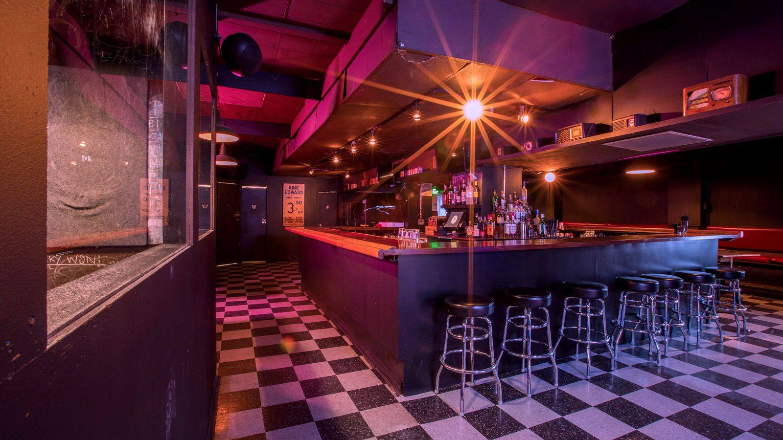 King eddy saloon cleans up and gets roughed up at the same for Acme salon san francisco