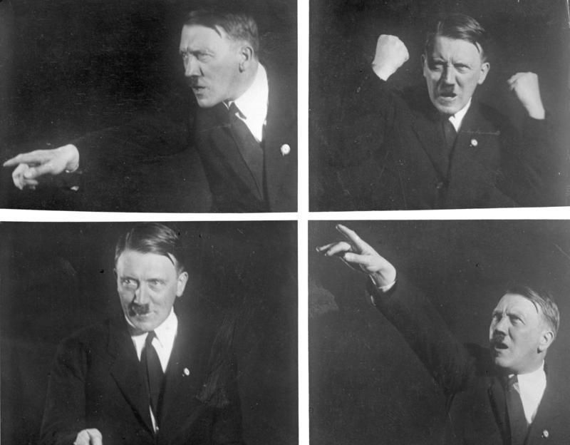 hitler poses for portraits