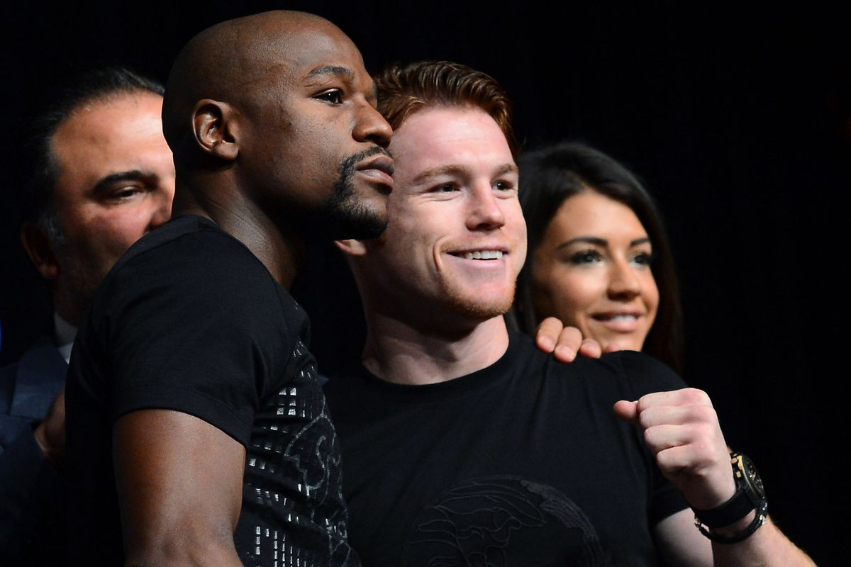 Floyd Mayweather and Canelo Alvarez bring their unbeaten records into the ring Saturday.