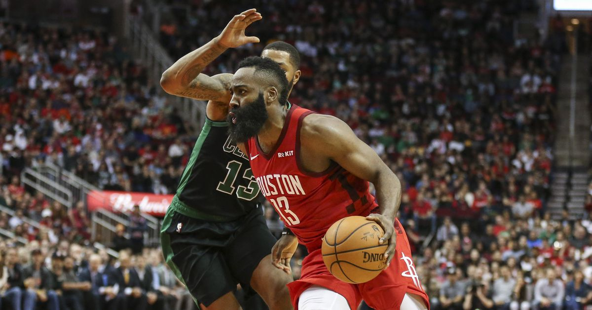 James Harden's 45 leads Rockets to win over Celtics - The ...