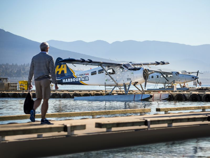 Harbour Air is working on converting a de Havilland Canada DHC-2 beaver, like the one pictured here, to run on electricity. Test flights are expected later this year.
