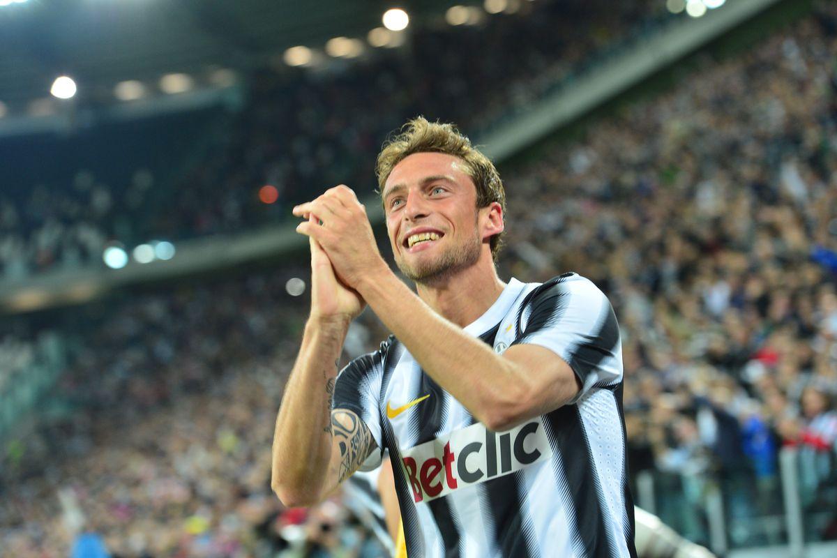 Juventus' midfielder Claudio Marchisio c