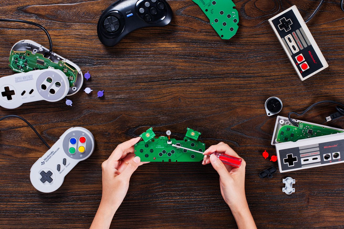 these 20 diy kits make classic controllers wireless