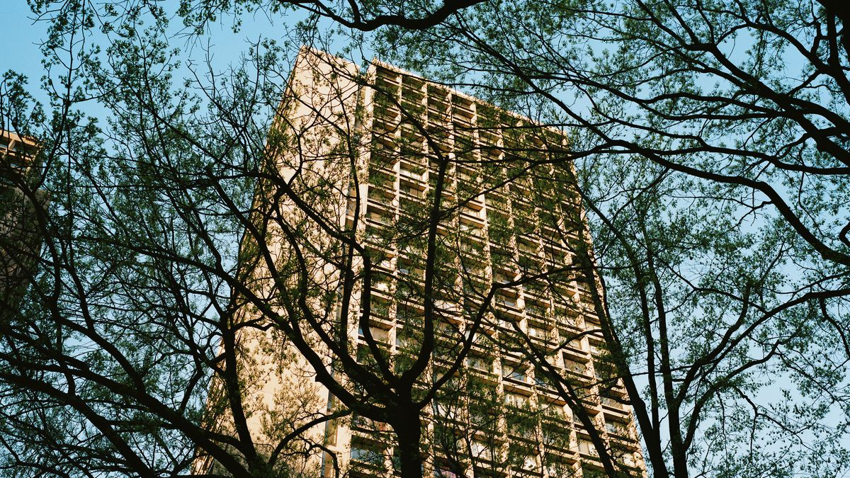 Inside NYU\'s Silver Towers and Washington Square Village - Curbed NY