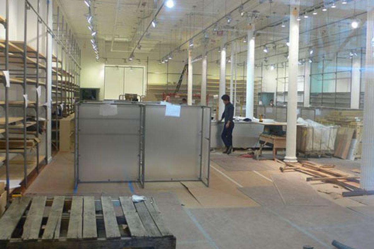 the interior of muji soho, revealed! - racked ny