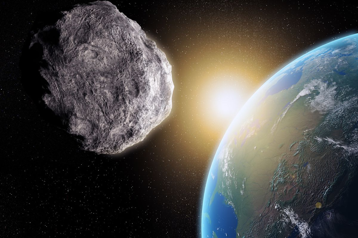 Image result for asteroid missed earth by 45000 miles