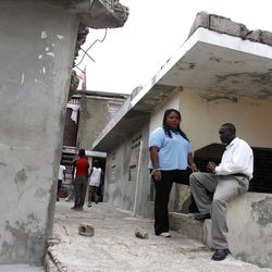Kathleen Jeanty left Boston to return to her native Port Au Prince to help rebuild Haiti after the earthquake. She got a job with an American charity called Build Change, which is helping locals rebuild their homes in seismically safe ways.