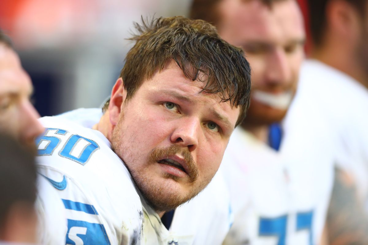 huge discount 3f825 a9a61 2018 Detroit Lions roster review: Will Graham Glasgow get a ...