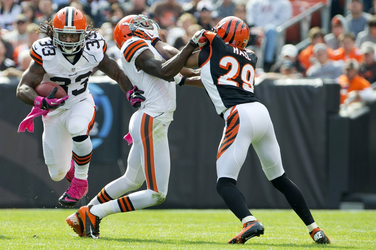 Trent Richardson Injury Browns Rb Limited In Loss To